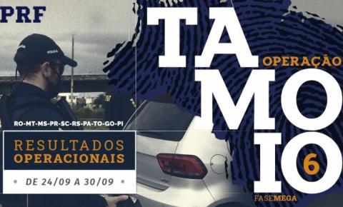 Operação Tamoio VI: Durante ação simultânea em 10 estados, PRF prende 54 pessoas em sete dias de ações de combate à criminalidade em todo o Piauí