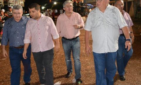 Ex-senador Heráclito Fortes prestigia comemorações de 51 anos de emancipação de Cristalândia