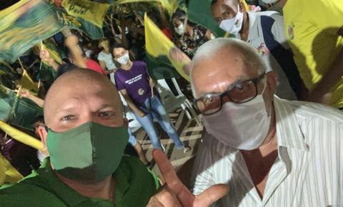 Leo Matos, candidato a reeleição em Gilbués, reúne grande número de apoiadores em reunião política
