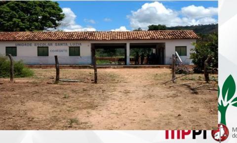 Ministério Público vai ao judiciário exigir que o prefeito de Corrente reforme as escolas da zona rural