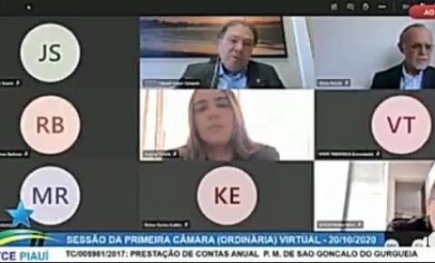 TCE aprova por unanimidade as contas de São Gonçalo do Gurgueia referente ao exercício de 2017