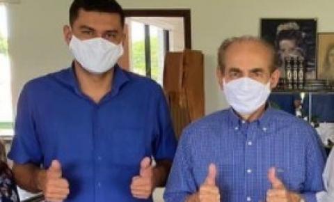 Prefeito eleito de Sebastião Barros, Pablo Carvalho, encontra-se com o senador Marcelo Castro e apresenta primeiras demandas para o município