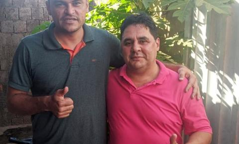 Pablo Carvalho, prefeito eleito de Sebastião Barros, trata sobre segurança com o Comandante do 7º BPM