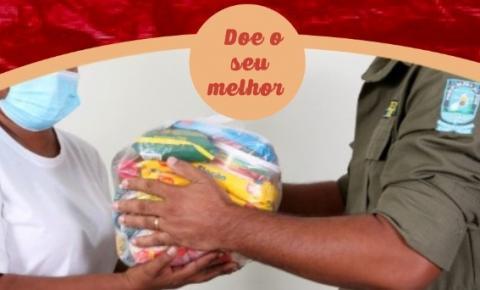 Polícia Militar de Corrente realiza campanha Natal Solidário