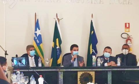 Vereador Salmeron Carvalho Filho é eleito presidente da Câmara de Corrente