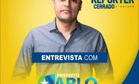 Prefeito Pablo Carvalho será entrevistado nesta sexta na Rádio Cerrado