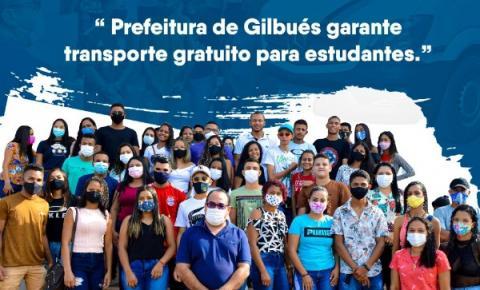 Prefeitura de Gilbués garante transporte gratuito aos estudantes para a realização do ENEM