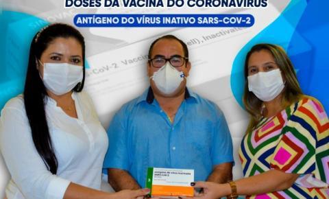 Plano municipal de imunização contra a covid terá início nesta quarta em Gilbués