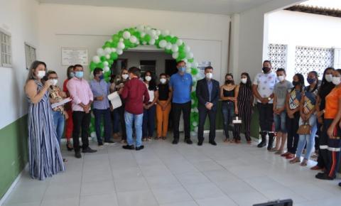 Prefeitura de Curimatá inicia vacinação dos servidores da saúde