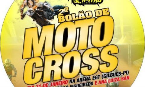 No dia 31 de janeiro os motores voltarão a roncar em Gilbués. Vem aí o 2º Bolão de Motocross!