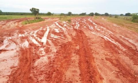 Moradores da zona rural de Gilbués sofrem todos os dias com as más condições das estradas