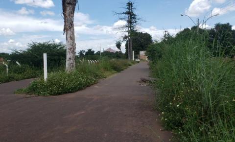 Vereador Cristóvam Neto denuncia o abandono do Parque de Exposição em Corrente