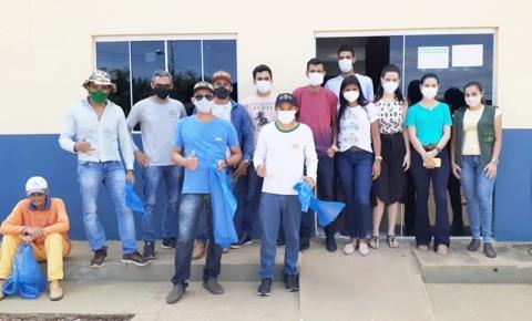 Grande mutirão contra a Dengue recolhe recipientes e entulhos das ruas de Sebastião Barros