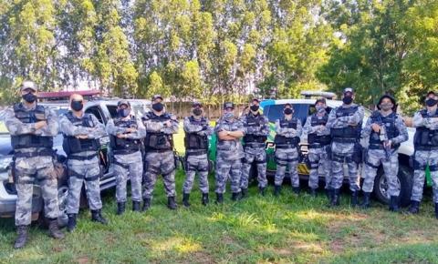 Policiais da Força Tática do 7º BPM participam de treinamento