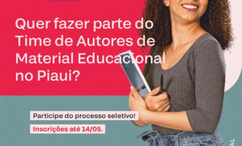 Nova Escola abre seleção de professores no Piauí para elaboração de novo material didático