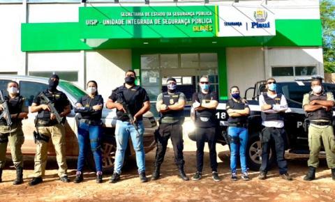 Polícia Civil executa a Operação Gênesis e prende traficante em Gilbués