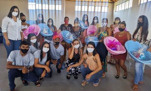 Secretaria de Assistência Social de Sebastião Barros entrega 25 kits natalidade às gestantes do município
