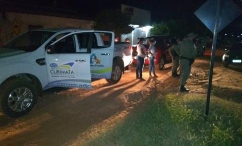 Polícia Militar de Curimatá realiza operação de fiscalização e notifica 4 estabelecimentos por violação aos decretos sanitários
