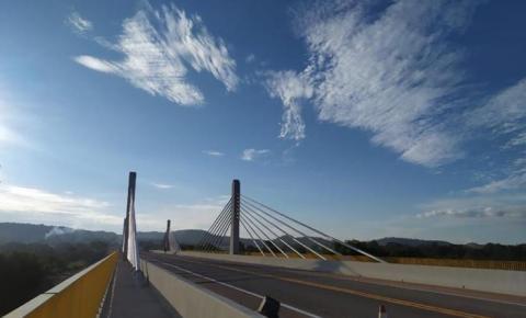 Presidente Jair Bolsonaro inaugura ponte em Santa Filomena nesta quinta (20)