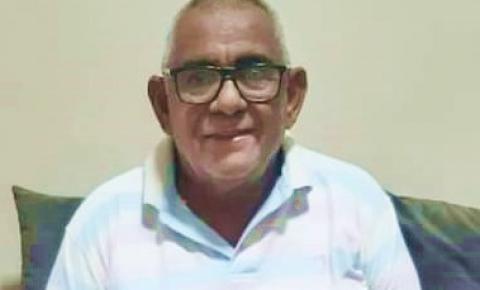 Morre o ex-vereador de Gilbués, Antônio Milton da Luz, aos 65 anos, vítima da covid-19