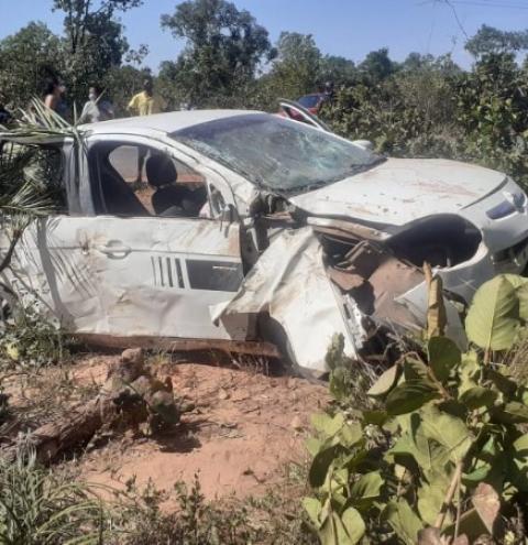 Acidente grave na PI 250 faz uma vítima fatal em Barreiras do Piauí