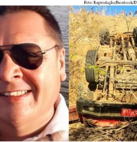 Piauiense de 47 anos morre após carreta cair em ribanceira no Ceará