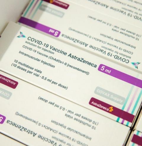 Doses das vacinas AstraZenca e Butantan chegam ao Piauí
