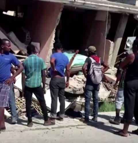 Número de mortos em terremoto no Haiti já passa de 1.300