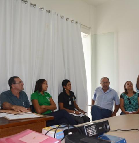 Superintendência de Meio Ambiente de Corrente participa de reunião com a Sertão Engenharia
