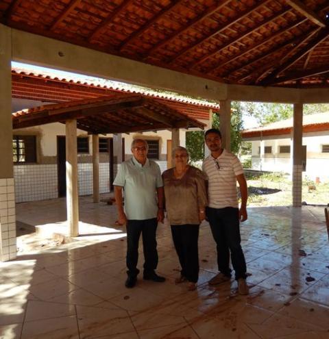 Nova escola da Vereda da Porta, zona rural de Corrente, será inaugurada em dezembro