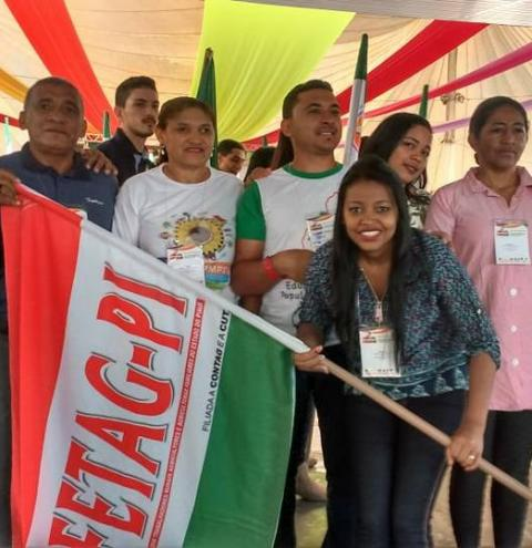 Polo regional da Fetag de Curimatá participa do 5º Enafor em Brasília