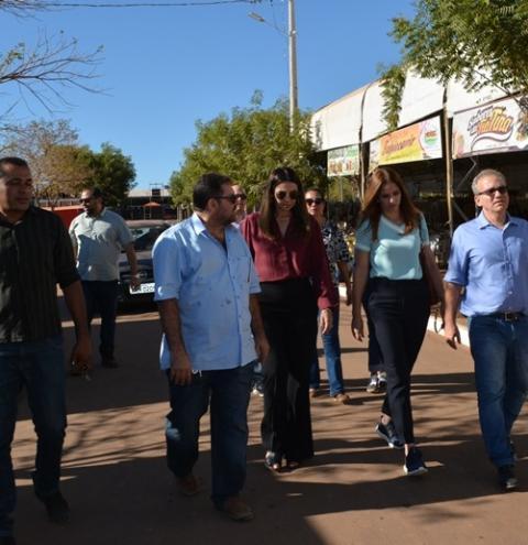 Vice-governadora marca presença na 43ª Expocorrente