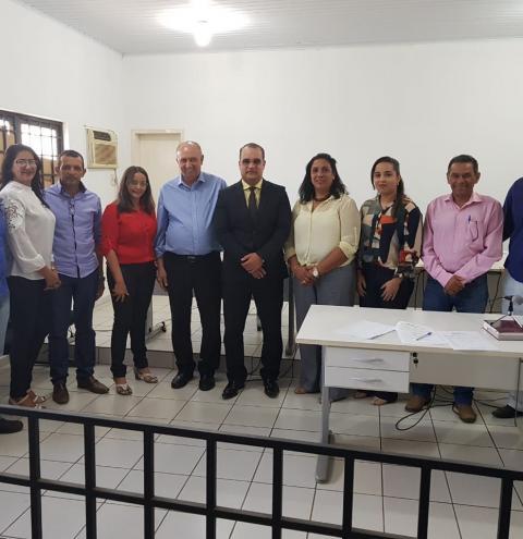 Avelino Lopes, Curimatá, Júlio Borges, Morro Cabeça no Tempo assinam termo no MPE para adequar CAPS