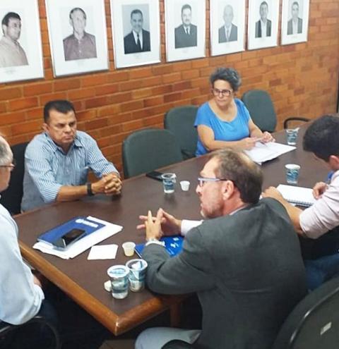 FURPA trata de projeto de revitalização e piscicultura com o prefeito Dó Bacelar, de Porto