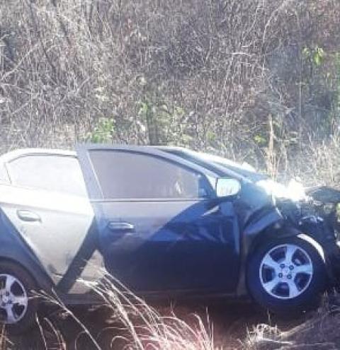 Cristalandenses morrem em grave acidente na BR 135 em Barreiras/BA