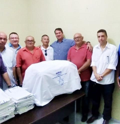 Hospital Regional de Corrente recebe doação da Loja Maçônica Monte Sião