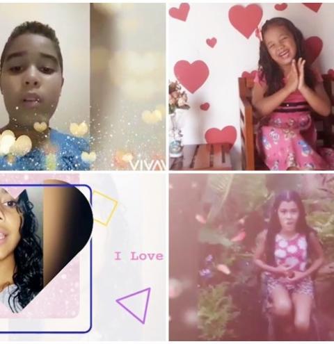 Mães são homenageadas com recital online por crianças participantes de projeto de leitura em Riacho Frio