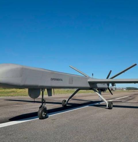 O drone brasileiro que será o xerife da Amazônia