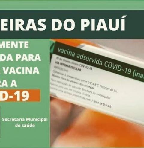 Prefeito Aroldinho confirma o cadastro de Barreiras para receber as vacinas contra o coronavírus