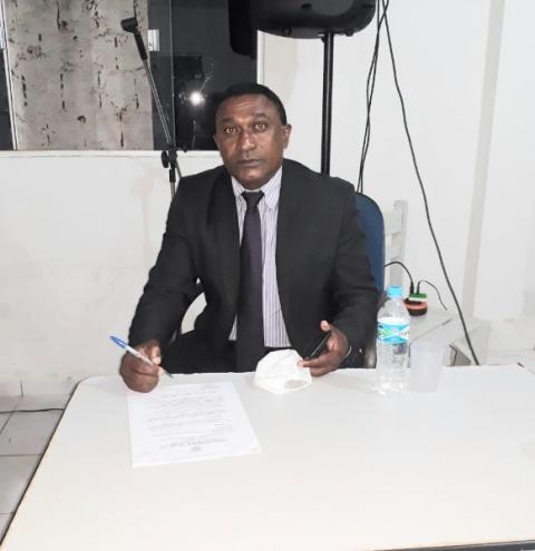 Vereador Joia, de Gilbués, solicita a conclusão da obra da escola da comunidade quilombola Marmelada