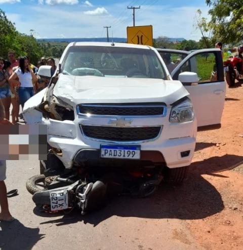 Professora de Corrente morre em acidente gravíssimo no bairro Vermelhão