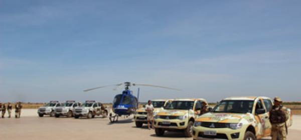 Polícia Militar da Bahia lançou em Luís Eduardo Magalhães a Operação Safra