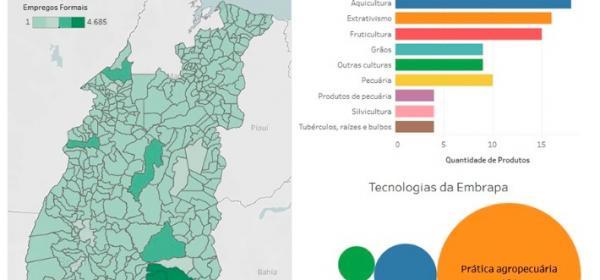 Nova plataforma digital interativa disponibiliza dados espaciais do Matopiba